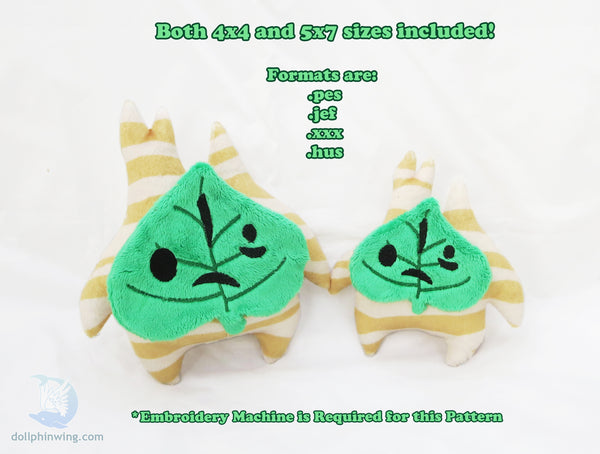 Forest Sprite Plush ITH Embroidery Pattern${tags}