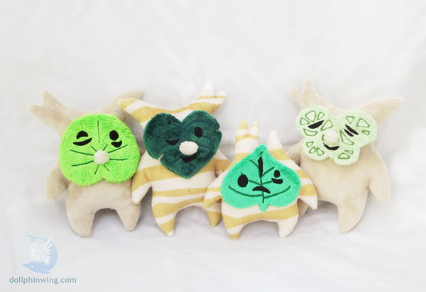 Forest Sprite Plush ITH Embroidery Pattern sewing pattern and tutorial embroidery_pattern, ith_pattern, korok, makar, plushie_pattern, Sewing_Pattern, zelda