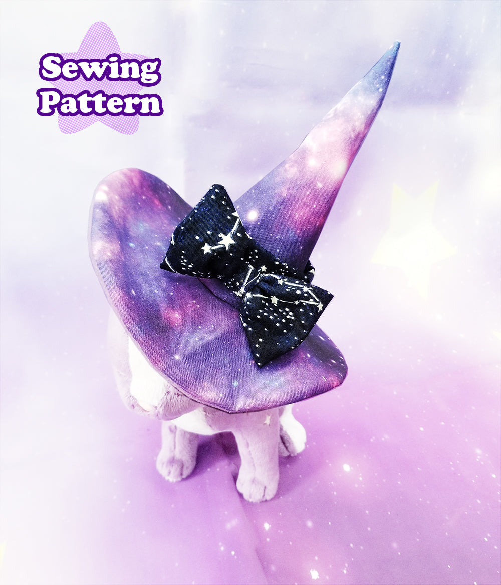 Mini Witch Hat Sewing Pattern