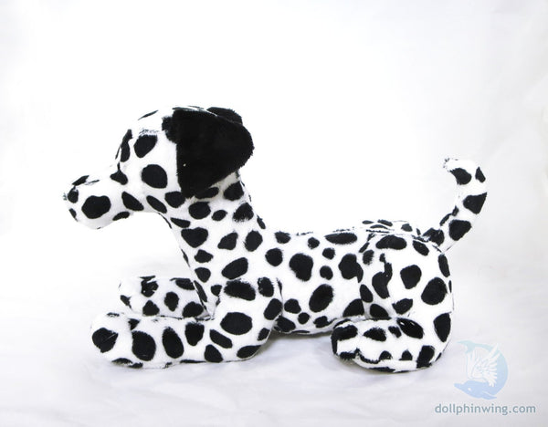 Laying Dog Plushie Sewing Pattern