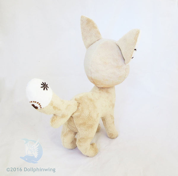 Fox Plush Sewing Pattern Digital PDF sewing pattern and tutorial dog plush, plush_sewing_pattern, plushie_pattern, sewing_pattern