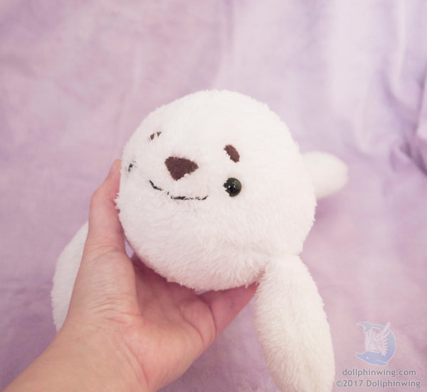 Arctic Seal plush Pattern${tags}