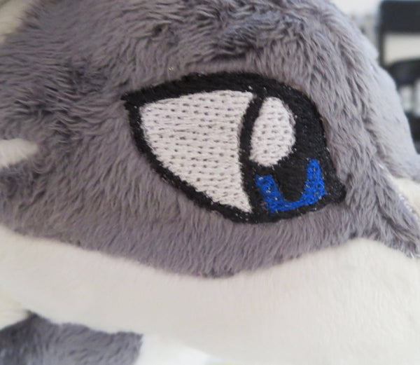 Wolf Link Plushie Sewing Pattern Add-On Embroidery