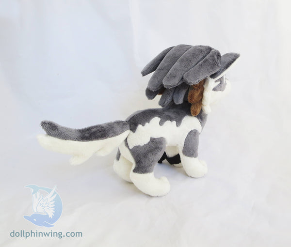 Wolf Link Plushie Sewing Pattern Add-On Embroidery sewing pattern and tutorial embroidery, link, pdf_pattern, plush_pattern, sewing_pattern, the legend of zelda, twilight princess, wolf link, zelda