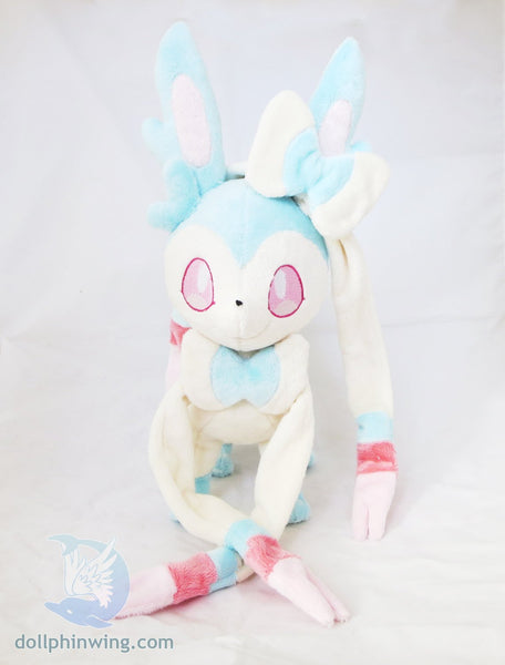 Sylveon Plush Sewing Pattern