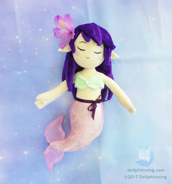 Mermaid Plush Sewing Pattern${tags}