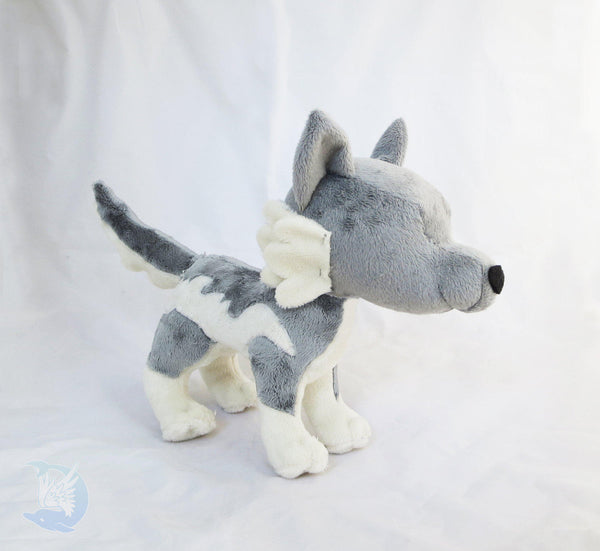 Wolf Plushie Sewing Pattern PDF${tags}