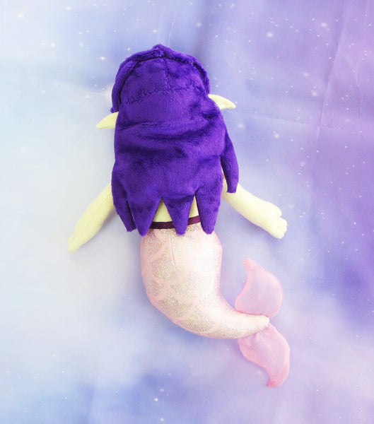 Mermaid Plush Sewing Pattern sewing pattern and tutorial Doll_Pattern, ocean, PDF_Pattern, Plush_Sewing_Pattern, Sewing_Pattern