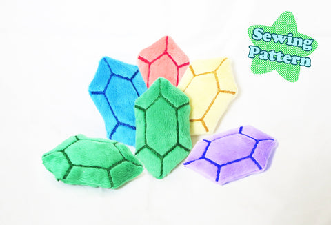 Gem Crystal ITH Embroidery Pattern