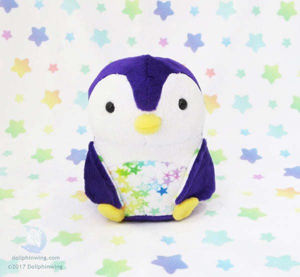 Penguin Plush Sewing Pattern