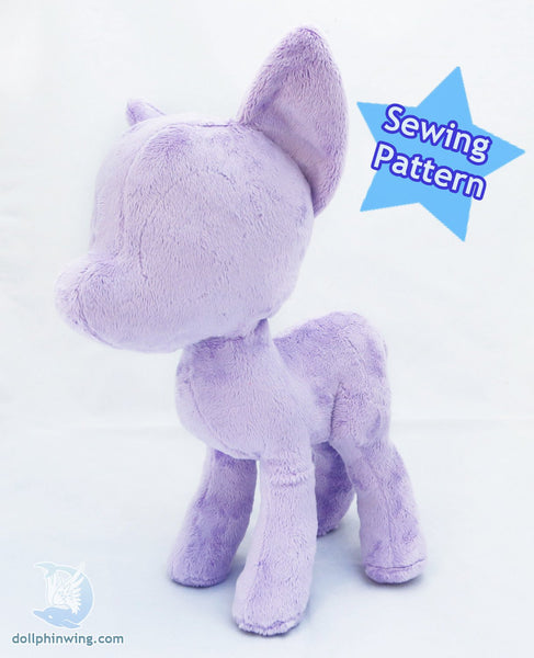 Pony Plush Sewing Pattern