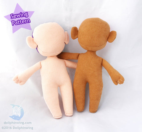 Chibi Doll Sewing Pattern