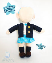 Load image into Gallery viewer, Chibi School Uniform Pack Sewing Pattern