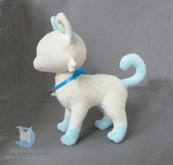 Standing Cat Plush Sewing Pattern PDF${tags}