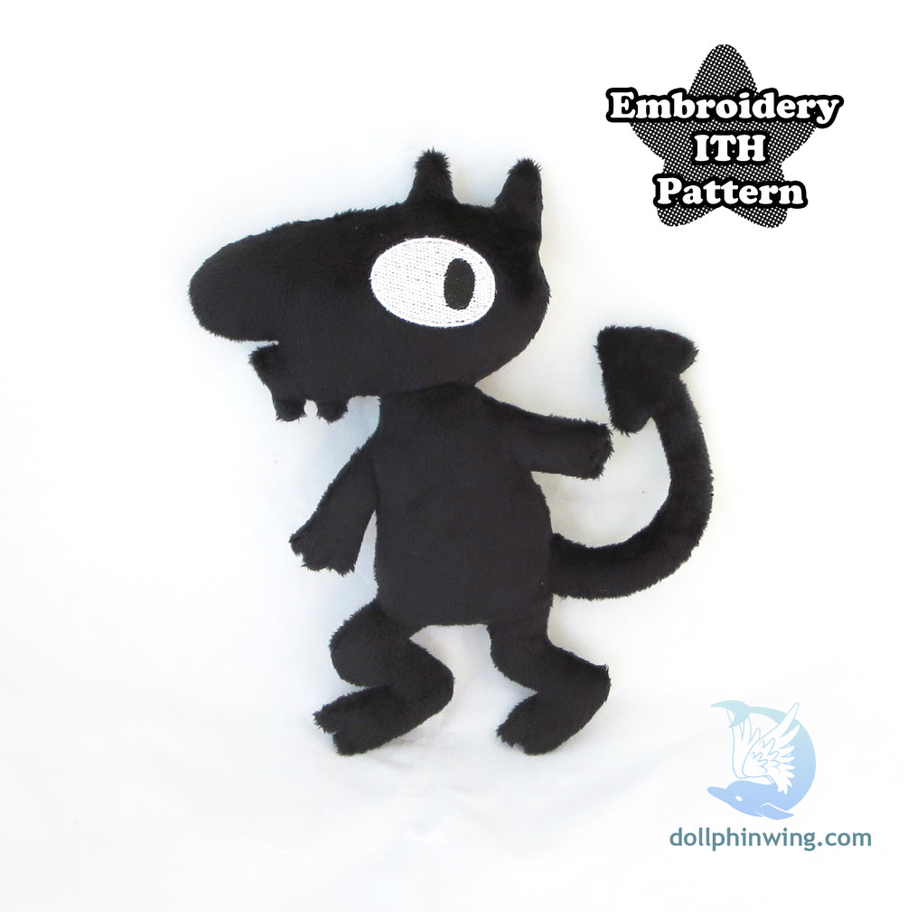 Personal Demon ITH Embroidery Pattern
