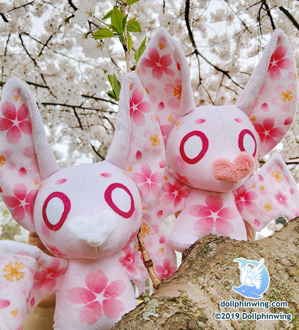 Sakura Bat Plushie${tags}