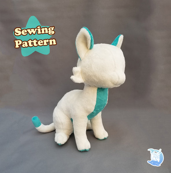 Cat Plush Sewing Pattern Bundle Pack