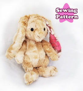 Bunny Plush Sewing Pattern PDF