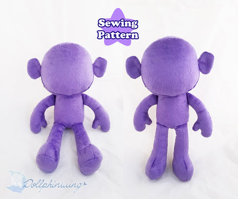 Sitting Doll Sewing Pattern
