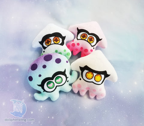 Squid Friend Plushie