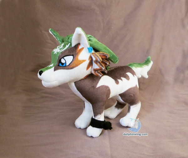 Wolf Link Plushie${tags}