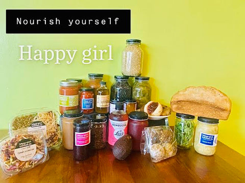 The Happy Girl Friday Box, 4 Weeks: January 29th - February 19th *Monterey County Only*