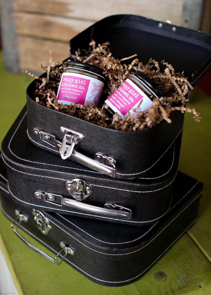Vintage Suitcase Gift Box