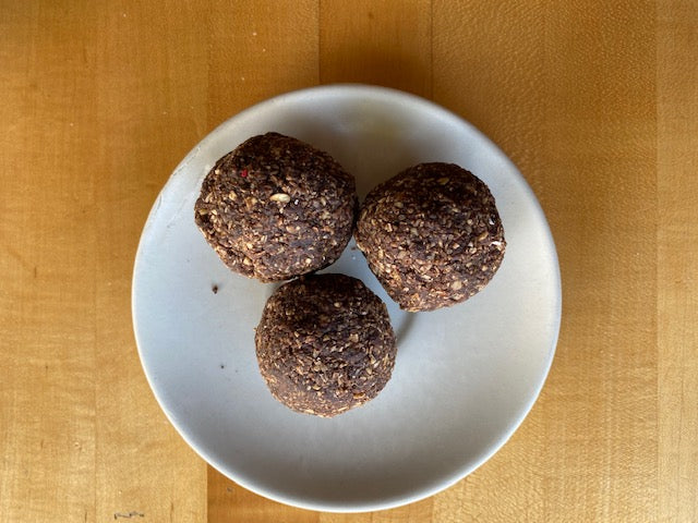 Chocolate Bliss Balls - V/GF/R