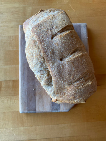 Loaf of house made sourdough bread!