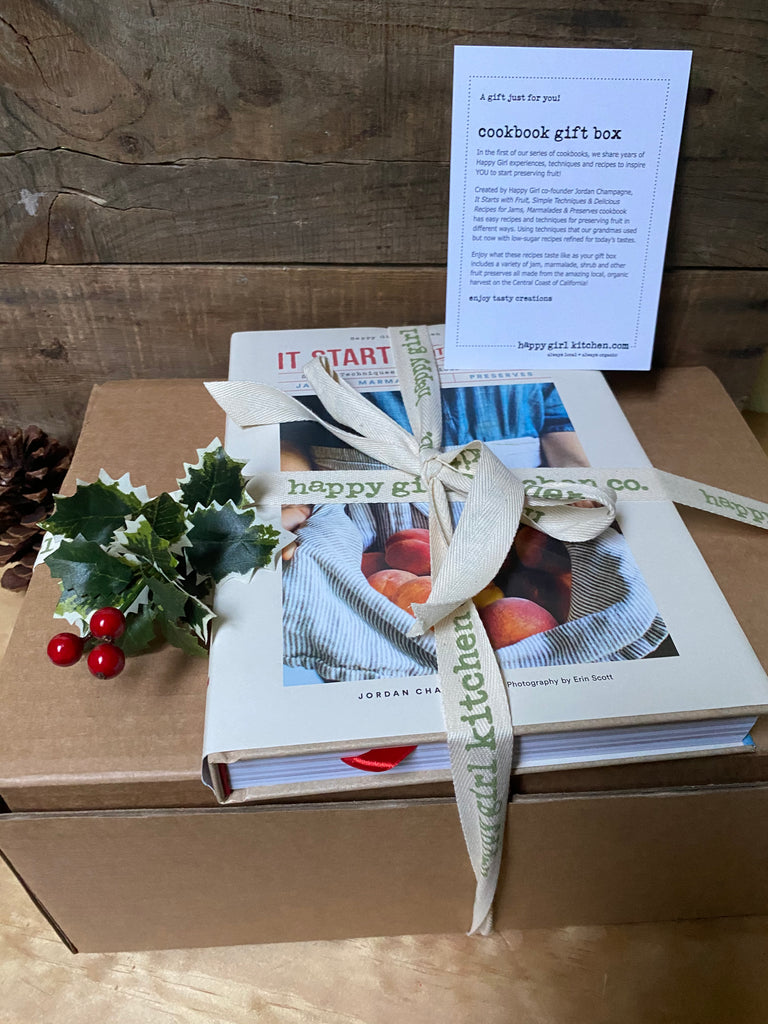 Cookbook Gift Box