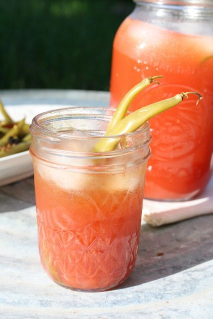 Spicy Heirloom Tomato Juice