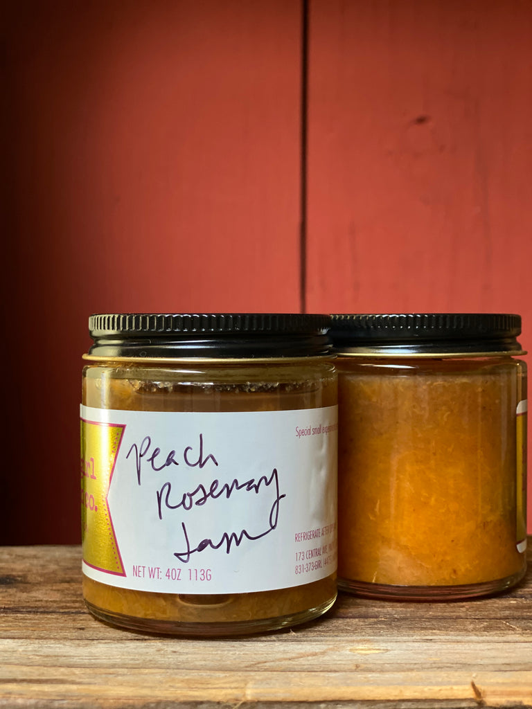 Peach Rosemary Jam *Limited Edition*