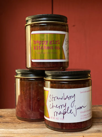 Strawberry Cherry Maple Jam *Limited Edition*