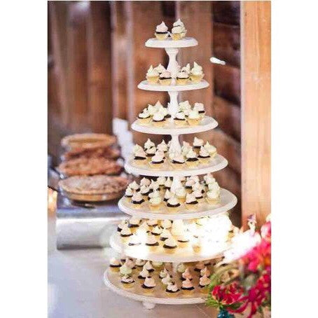Elegant 6 Tier Wooden Stand Rental
