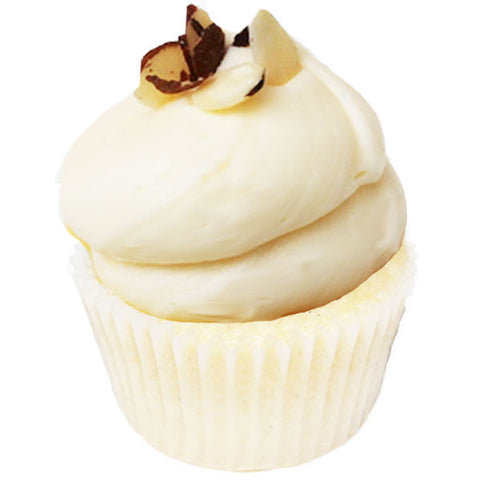 Double Almond Cupcake