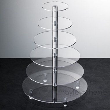 Clear Acrylic Stand Rental - 6 tier