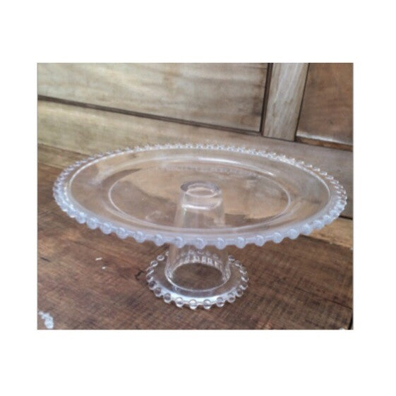 Glass Stand Rental - Hobnail Edge
