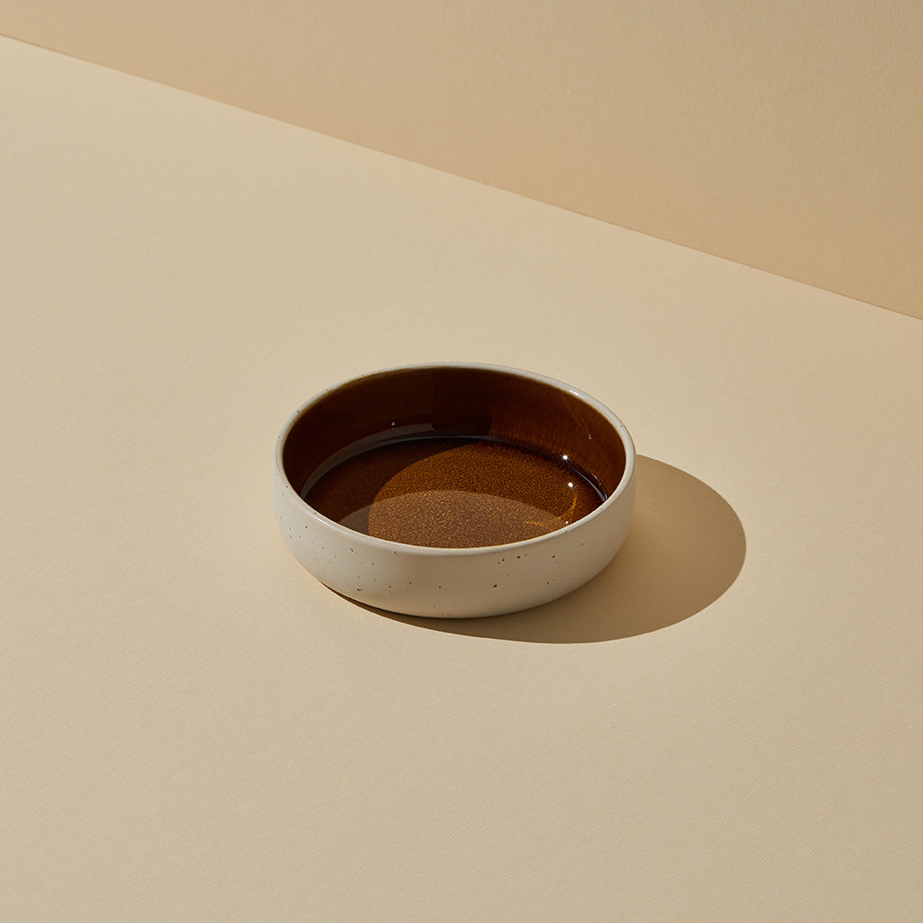 Burnt Sienna Glazed Bowl