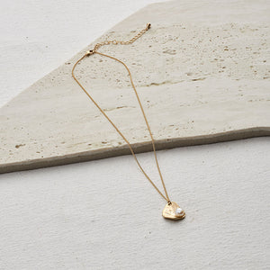 Emery Necklace — Gold