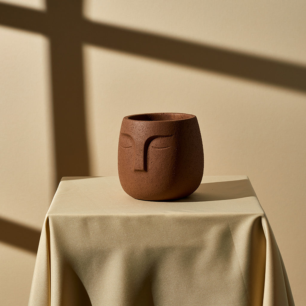 Face Planter (Small) — Terracotta