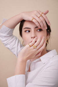 Lexy Ring — 18K Gold