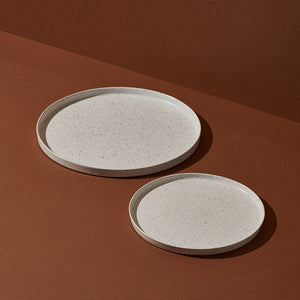Speckled Dinnerware Set — Modern