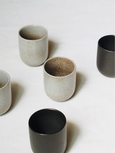 Gradient Stone Handleless Coffee Cup – Small