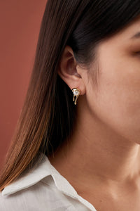 Camilla Earrings — Classic Gold