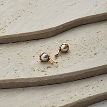 Load image into Gallery viewer, Camilla Earrings — Classic Gold