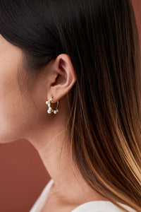 Valerie Earrings — Gold
