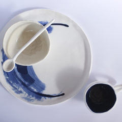 porcelain workshop - plate cup bowl & spoon sunday 14 august 10am-3pm