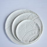 porcelain lace plate – white (bread plate)