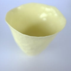 lemon yellow vessel – small