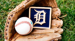 Pewabic Cheers on the Detroit Tigers